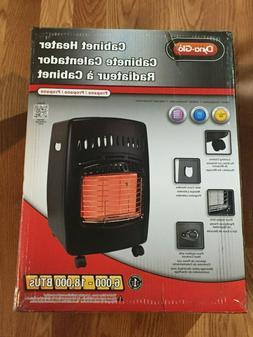 Dyna-Glo RA18LPDG 18,000-BTU Portable Cabinet Propane Heater