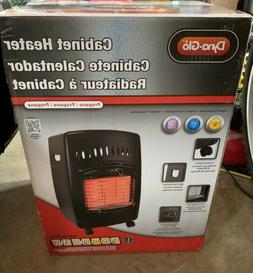 Dyna-Glo RA18LPDG Portable Propane Cabinet Space Heater - Bl