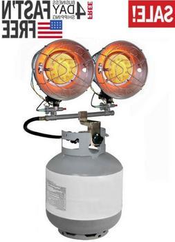 Dyna-Glo TT30000M Portable Heater Double Burner, New 2020.
