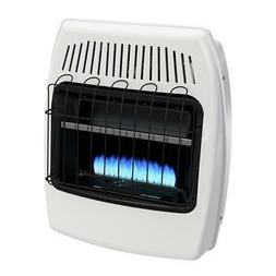 Dyna-Glo Wall Heater 20,000 BTU Blue Flame Vent Free Natural