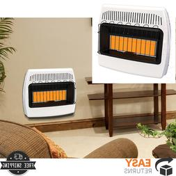 Dyna-Glo Wall Heater Infrared Liquid Propane Vent Free 30000
