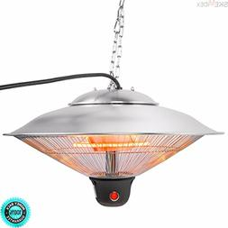 """SKEMIDEX---20"""" Electric Patio Infrared Outdoor Ceiling Heate"""