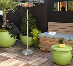 Infrared Electric Indoor/Outdoor Standing Heater, Adjustable