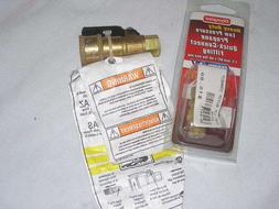 Fairview 3/8'' Natural Gas/ Propane Quick Connect Shut Off F