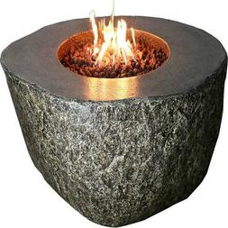 Fiery Rock Firepit Table 50 Inches Outdoor Fire Pit Table Ba
