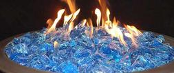 Fire Pit Glass Rocks For Patio Heaters Outdoor Propane Gas F