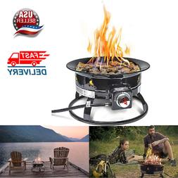 Outland Firebowl 823 Outdoor Portable Propane Gas Fire Pit,
