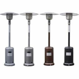 Garden Outdoor Patio Heater Propane Standing LP Gas Steel w/