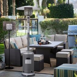 Garden Outdoor Patio Heater Propane Standing LP Gas Steel ac