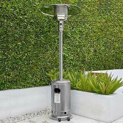 Garden Outdoor Patio Heater Propane Standing Stainless Steel