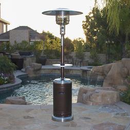 Garden Outdoor Patio Heater w/ Table Propane Standing lpg re