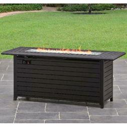 Gas Fire Pit Smokeless Firepit Outdoor Patio Heater Garden B