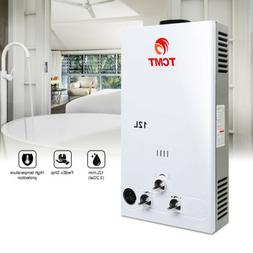 Gas Tankless Water Heater 3.2 GPM 12L Propane Gas  - Digital