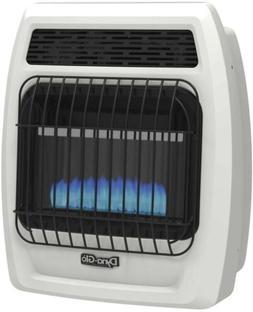 Gas Wall Heater 10000 BTU Liquid Propane Blue Flame Vent Fre