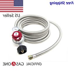 gasone 12 ft propane hose and regulator