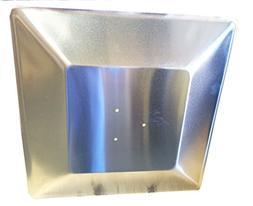 Hiland Glass Tube Heat Shield, Square