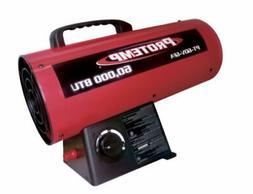 Global Industrial Protemp propane Torpedo Heater 60k BTU - F