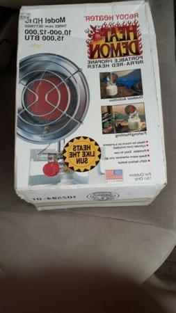 Reddy Heater Heat Demon HD15 Portable Propane Infra-Red Tank