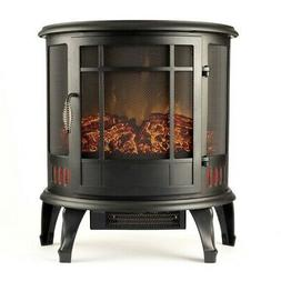 """Regal Flame 22"""" Heater Vent Free Curved Electric Fireplace S"""