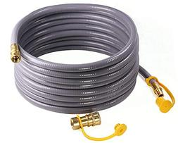 DOZYANT 24 Feet 3/8-inch ID Natural Gas Grill Hose with Quic