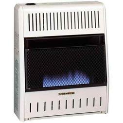 Vent Free Propane Heater Indoor Blue Flame 20,000 BTU Econom