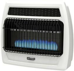 Indoor Propane Heater Blue Flame Vent Free Thermostatic Wall
