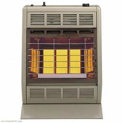 Empire Infrared Heater Liquid Propane 18000 BTU, Manual Cont