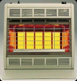 Empire Infrared Heater Liquid Propane 30000 BTU, Manual Cont