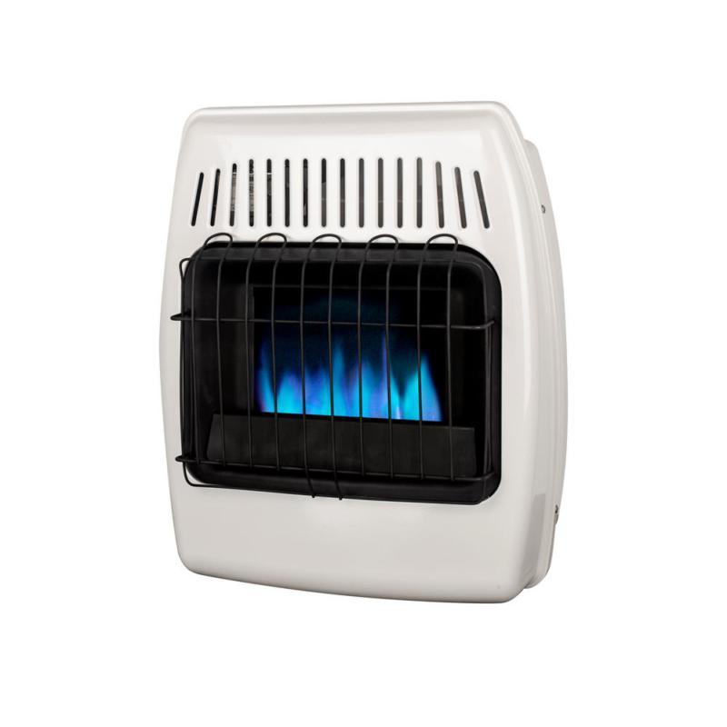 10 000 btu blue flame vent free