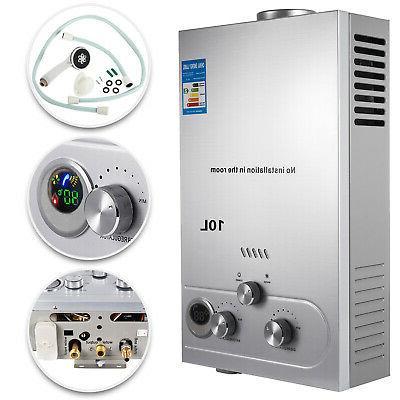 10l lpg tankless hot water heater propane