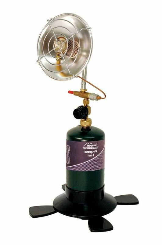 Texsport 14215 Portable Propane Heater, Stainless Steel, 289