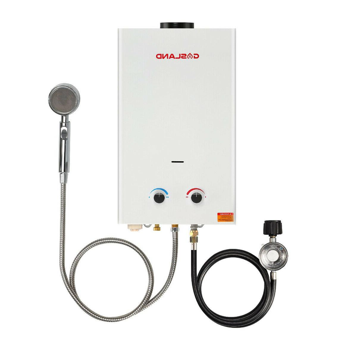 Tankless Water Heater, Gasland BS264 2 64GPM 10L Outdoor