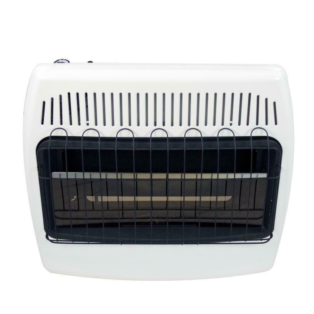 30,000 Vent Free Blue Flame Liquid Gas Home Heater