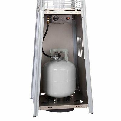 Fire 40,000 BTU Stainless Patio Heater