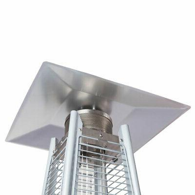 Fire Stainless Steel Patio Flame Heater