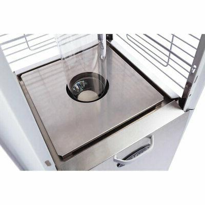 Stainless Shaped Patio Propane