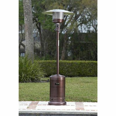 Fire 46,000 Wheeled Commercial Patio Propane Heater,