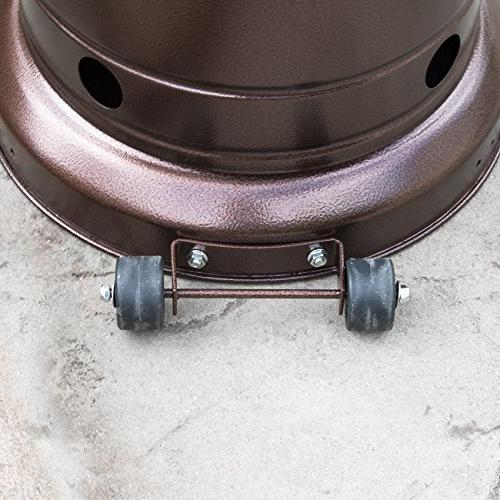 Belleze 48,000BTU Outdoor Patio LP CSA Certified,