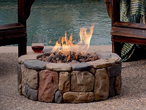 Bond Manufacturing S-66600-A Bond 66600 Fire Pit, Height: Multicolored