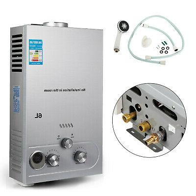 6L Tankless Hot Heater Auto-protection Electric On-demand