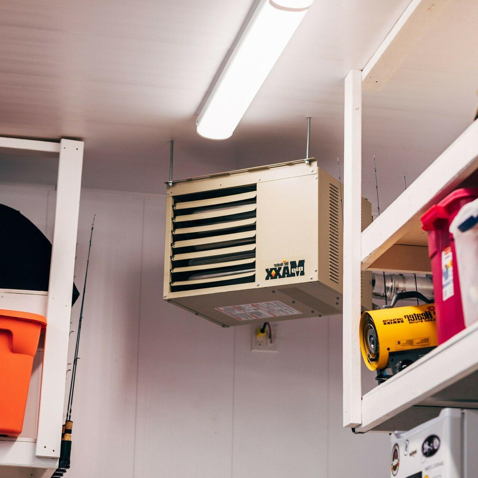 80000 Natural Garage Workshop Unit Heater