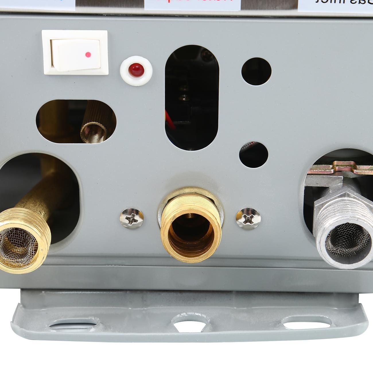 8L <font><b>Propane</b></font> <font><b>Gas</b></font> Tankless Water Stainless Steel