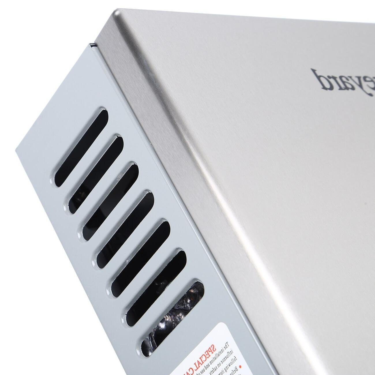8L LPG <font><b>Propane</b></font> Instant Tankless Water <font><b>Heater</b></font> Steel