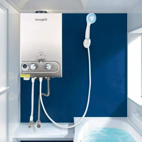 8l gas tankless instant water heater boiler