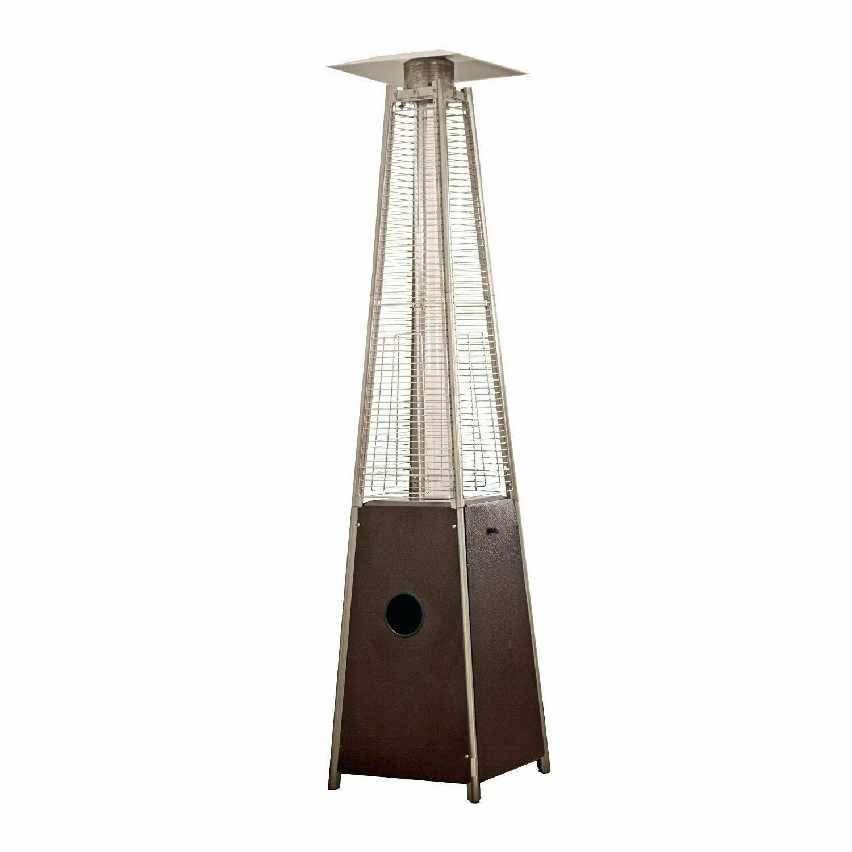 AZ Patio Heaters Patio Heater, Quartz Glass Tube in Hammered