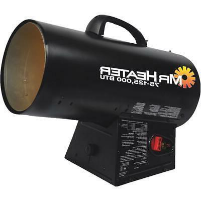 Mr. Heater 125,000 BTU Forced Air Propane Heater F271390