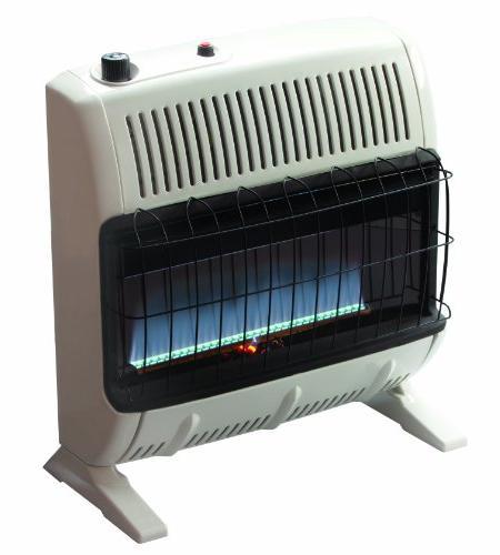 30,000 BTU Vent-Free Flame Propane