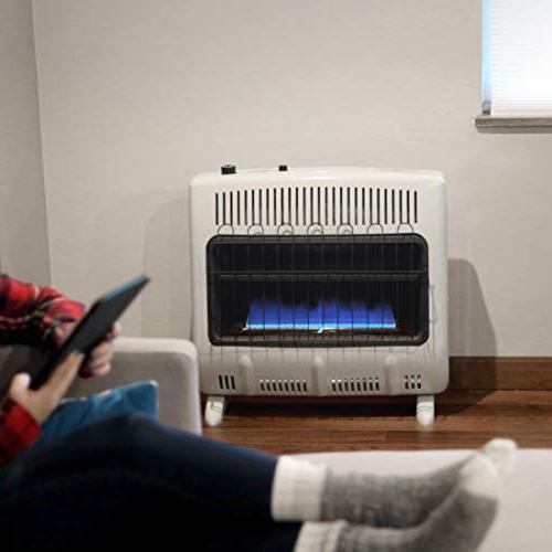 Mr. Heater Vent-Free 30,000 BTU Blue Propane Heater One