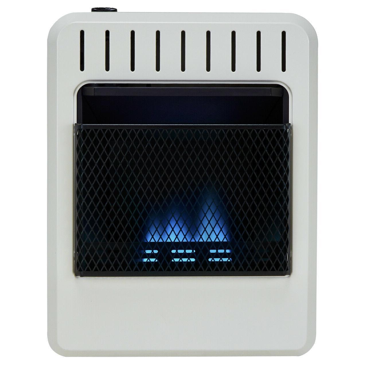 Avenger Dual Ventless Blue Heater, Free BTU