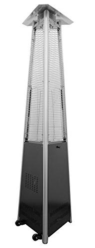 AZ Patio HLDS01-CGTPC Commercial Triangle Glass Tube Heater,